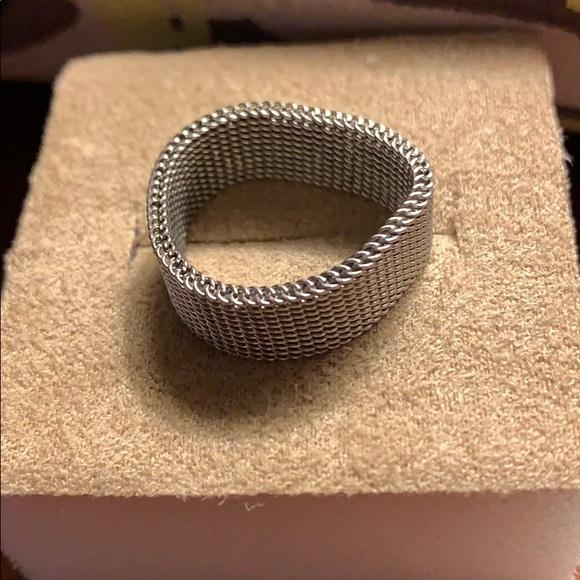 Jewelry - mesh ring.